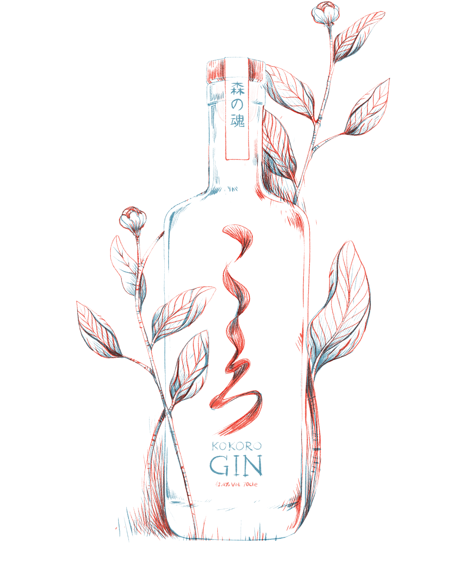 Kokoro Gin Japan
